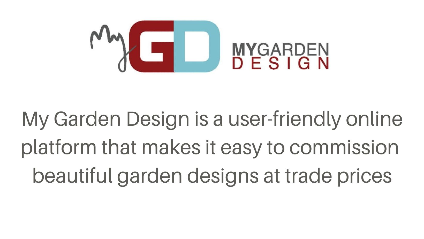 My Garden Design services for landscapers