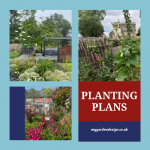 planting plans collage